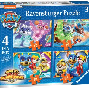 Ravensburger Might Pups 4 in a Box Puzzles-0