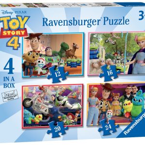 """Ravensburger """"Toy Story 4"""" 4 in a Box Puzzles-0"""