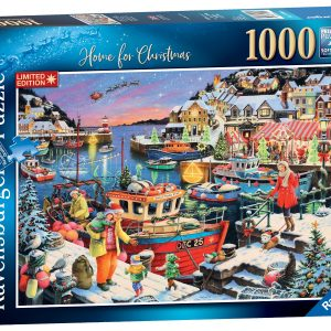 """Ravensburger """"Home for Christmas!"""" Puzzle-0"""