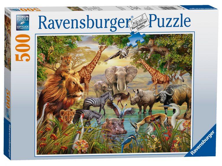 Ravensburger Animals at The Waterhole Puzzle-0
