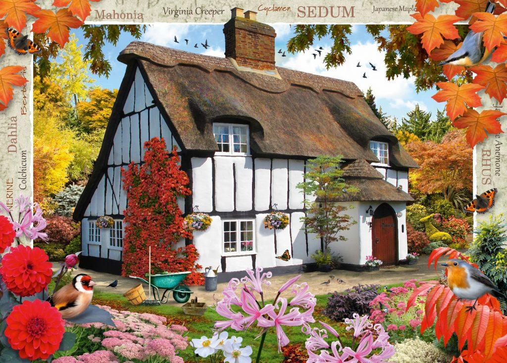 Ravensburger Sedum Cottage Puzzle-6986