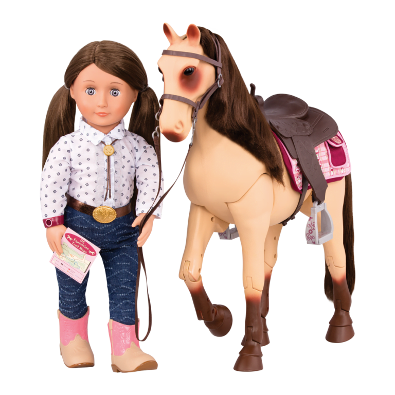 Our Generation Poseable Morgan Horse-7257